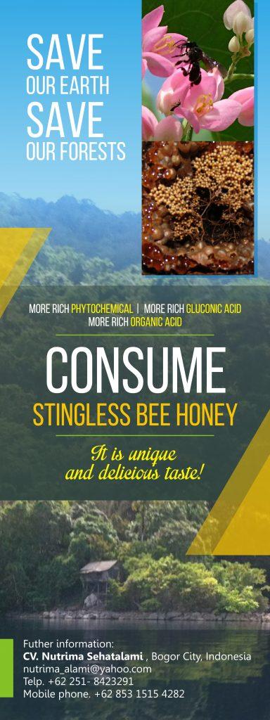 Banner Stingless Bee Honey CURVE